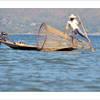 pêcheur traditionnel sur le lac Inlé